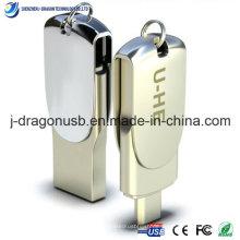 Spezielle Design Metall OTG USB Flash Drive