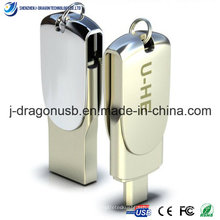 Special Design Metal OTG USB Flash Drive