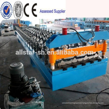 DX CE metal deck roll forming machine/floor deck roll forming machine
