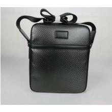 Carbon fiber shoulder bag for men