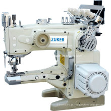 Zuker Feed o braço automático Thread corte Interlock máquina de costura Direct Drive (D de ZK-1500-156)