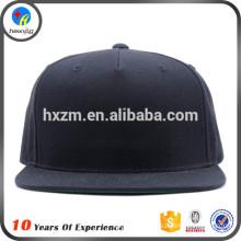 plain embroidery acrylic snapback cap