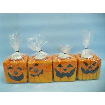 Halloween Candle Shape Ceramic Crafts (LOE2372-E7z)