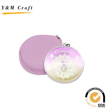 Espelho superior do plutônio do rosa da forma redonda da venda com epoxy Doming