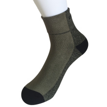 Half Kissen Poly Twisted Yarns Fashion Quarter Army Grüne Socken (JMPQ02)