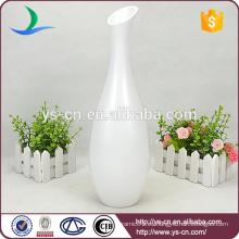 Nuevos vasos de cerámica mate modernos blancos para la decoración de la boda