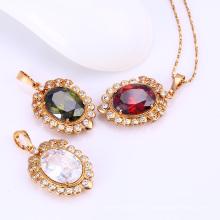 31541-Xuping bijoux gros pendentifs en cristal de pierre en gros
