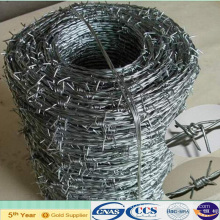 Electro Galvanized Double Twist Barbed Wire Fencing (XA-BW8)