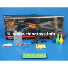 Cheap Plastic Toys Gun with Water Bullet, Soft Bullet (887743)