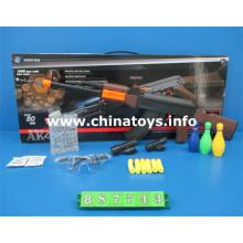 Arma barata dos brinquedos plásticos com bala da água, bala macia (887743)