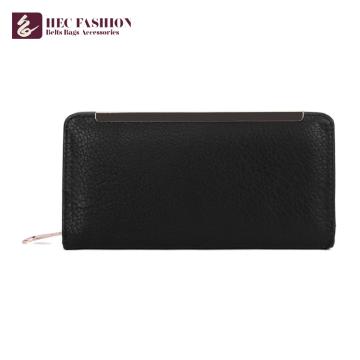 HEC Long Purses Travel Passport Holder Multi-Functional Wallet For Female