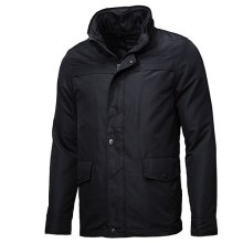 Men's Classic Jacket Black Short Jacket Coat (AM135)
