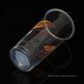 20oz klares PP-Wegwerfplastik-Trinkbecher mit Deckel