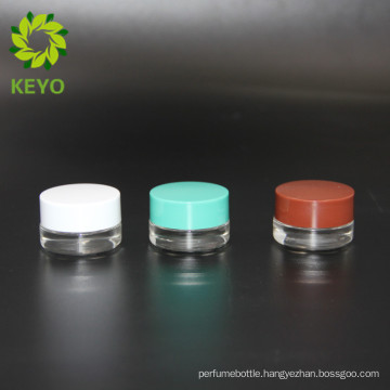 3g best selling empty cosmetic eye care cream use glass jar