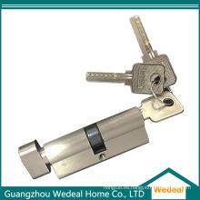 Cilindro de cerradura de puerta de seguridad de latón