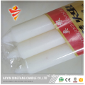 Handgemaakte Stick White Wax Candle