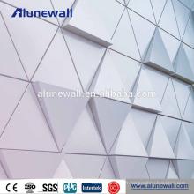Panneau composite de panneau en aluminium de revêtement de fabricant professionnel PVDF ACM ACP