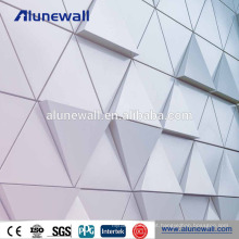 Painel composto ACM ACP da placa de alumínio profissional do revestimento do fabricante PVDF
