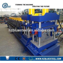 Ridge Cap Roll Forming Machine / Metal Ridge Cap Forming Machine / Roof Ridge Cap Colour Coated Making Machine