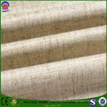 Moda poliéster / linho fr cortina cego tecido