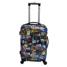 ABS & PC kombinasi koper percetakan murah