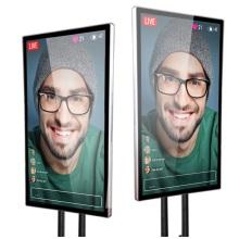 49-Zoll-LCD-Monitor mit großem Bildschirm