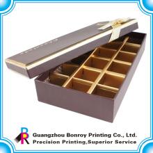Heißer Verkauf benutzerdefinierte Phantasie Schokolade Bonbons Box Holz