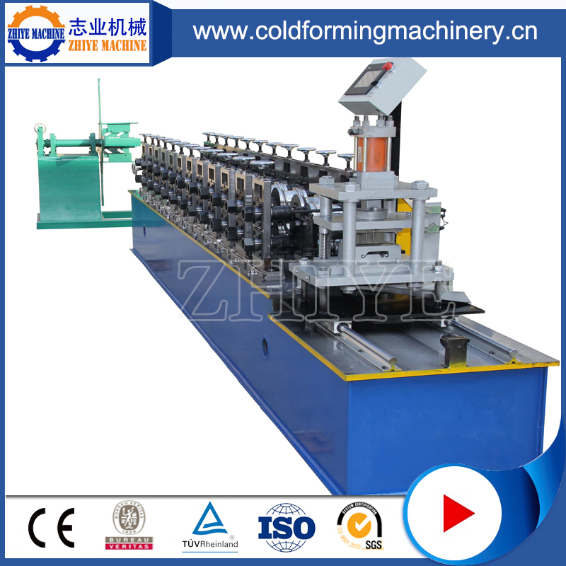 Automatic Rollering Shuttering Door Stamping Machine