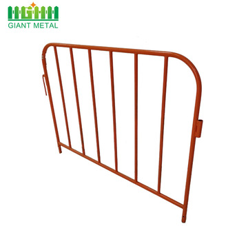 Flat Leg Galvanized Steel Safety  Barriers