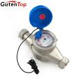 LB Guten top gallon/pulse or liter/pulse Multi jet brass water meter