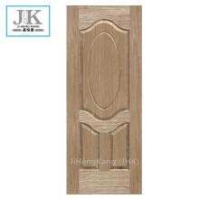 JHK HDF Oval Burma Teak Flute Door Panel