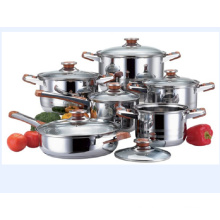 Cookware Stainless Steel Soup Pot Set