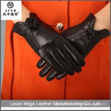 China proveedor Glove Guantes de cuero