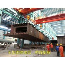 High Performance for Steelstructure Truss Railway Bridge prefabricated railway bridge supply to Gabon Manufacturer