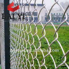 Clôture de maillon de chaîne épaisse enduite de PVC