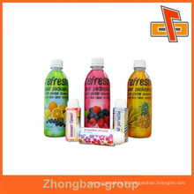 made in China color printed PVC shrink label, Plastic PVC Shrink Labels
