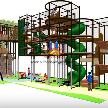 Baum Themen Indoor Spielplatz Struktur