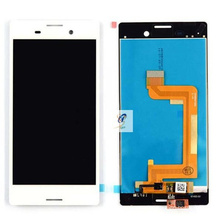 Cell Phone Parts for Sony Xperia M4 Aqua White LCD Screen Replacement