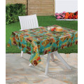 Oilproof, Waterproof Feature and Square Shape Tablecloth Plastic Transparent