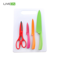 3pcs Knife Scissor Set with Board