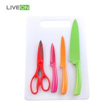 Набор ножничных ножей 3шт с доской