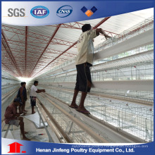 Automatic Battery Chicken Frame Cage for Chicken Farm Use