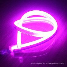 110V mutige Farbe Flexible LED Neon Seil Licht Indoor Outdoor Urlaub Valentines Party Decor Beleuchtung