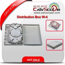 Caja terminal de fibra óptica de alta calidad W-4 / caja de distribución de Mini FTTX