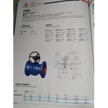 butterfly type balance valve grey iron pn10