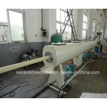Machine en plastique d'extrudeuse de tuyau de PVC 75-160mm