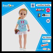 Boneca de beleza menina 43 centímetros boneca barata