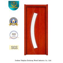 Puerta de acero de seguridad Simplestyle con vidrio (s-1027)