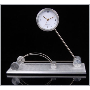 Reloj de regalo de aluminio del hotel (DZ33)