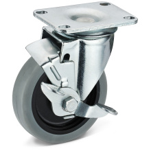 Die TPR Movable Side Brake Casters